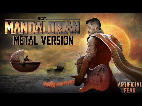 The Mandalorian Theme Song Metal Version (ft. Artwork by Ken Coleman) || Artificial Fear