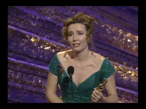 Emma Thompson winning Best Actress for