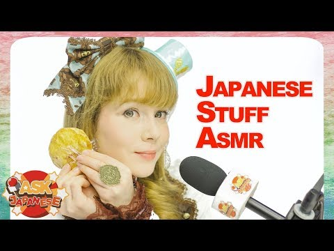 ASMR CHALLENGE: EATING RICE CRACKERS: ASK JAPANESE TRIES ASMR