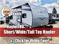 2020 Jayco Octane 161 Tiny Travel Trailer Toy Hauler
