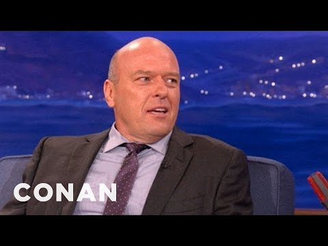 "Dean Norris On Playing Hank On ""Breaking Bad"" - CONAN on TBS"