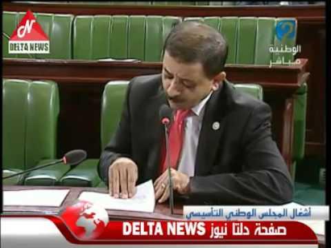 image vid�o سمير بن عمر يطالب بحذف كلمة مستقلة وذات سيادة من الدستور