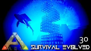 ARK: SURVIVAL EVOLVED - NEW UNDERWATER VACUUM TEK BASE !!! E30 (MODDED ARK PUGNACIA DINOS)