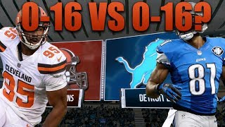 Madden 18 | Who Would Win?! 2017 Cleveland Browns vs 2008 Detroit Lions!