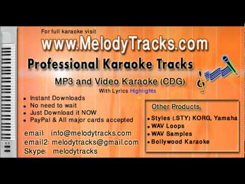 Baghon mein bahar hai - Rafi KarAoke - www.MelodyTracks.com