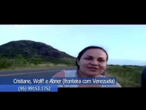 Vídeos dos Amigos do Papo: Cristiana, Wolff e Abner querem encontrar amigos em Boa Vista - Roraima!