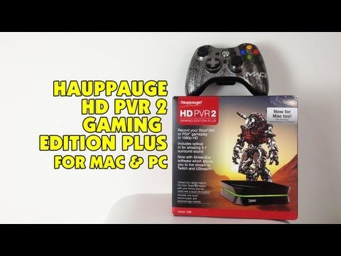 Hauppauge HD PVR 2 Gaming Edition Plus - Unboxing & Capture Test