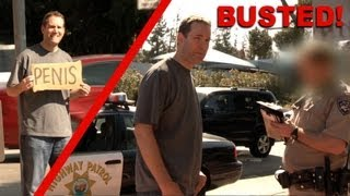 Hilarious Signs Prank (Busted by COPS!)