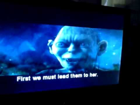 Gollum Talking To Him Self (lord Of The Rings)