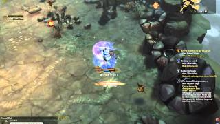 [Tree of Savior] Ranger lv 71 c2 grinding, Barrage/High Anchoring lv 10 in action