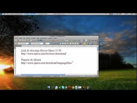 Instalar Opera en español para Ubuntu