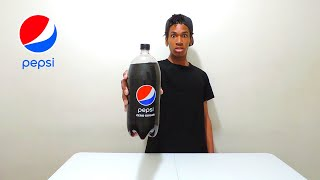 2 Liter Diet Pepsi Zero Sugar No Burp Chug | No Burp Challenge