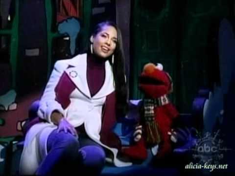 Alicia Keys on Elmo's Christmas Countdown - YouTube