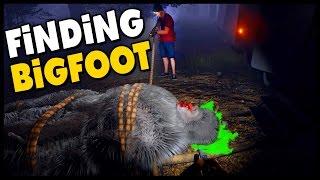 Finding Bigfoot - BIGFOOT CAUGHT & BIGFOOT CAGED! Multiplayer Gameplay w/Blitz - Sasquatch Sighting