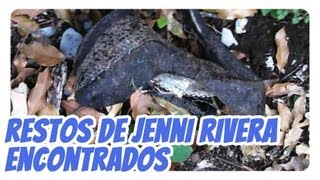 Restos De Jenni Rivera Encontrados, Irreconocibles