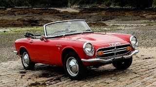 Honda S800: The latest addition to the Honda UK heritage fleet