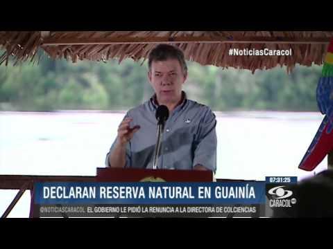 Estrella fluvial del Inírida ahora brilla como como reserva natural en Guainía - 9 de Julio de 2014