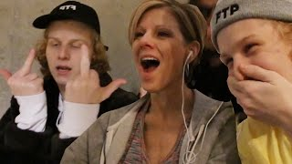 MOM REACTS TO SONS RAP VIDEO