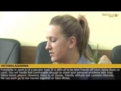 Victoria Azarenka about victories, Olympic medals and WTA ranking