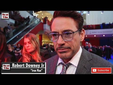 Robert Downey Jr Captain Amerrica Civil War European Premiere Interview