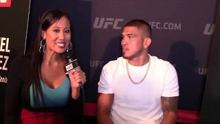 Anthony Pettis: Nate Diaz is a guy I can kick on. Not happy 'til I add him to highlights