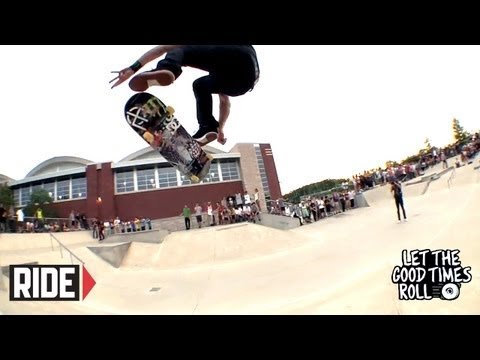 Chris Cole, Josiah Gatlyn, Jamie Thomas & More at Rise Skateshop - LET THE GOOD TIMES ROLL