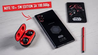 Распаковка Note 10+ Star Wars Edition за 100.000 руб.