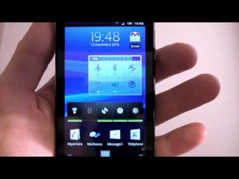 Test du Sony Ericsson Xperia X10 HD par Test-Mobile.fr