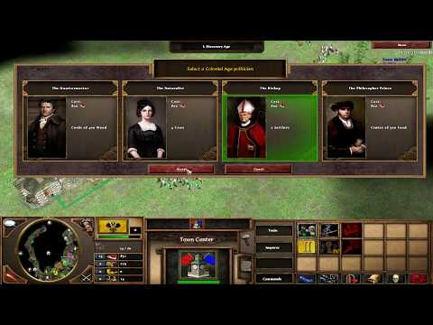 Age of empire 3 : 4VS4 Russia/Iroquois/British/Spanish VS French/Iroquois/Japanese/Germans