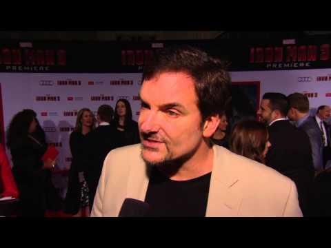 ScreenSlam -- IRON MAN 3 - Shane Black - Director / Writer