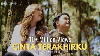 Download lagu Bagas Ran - Cinta Terakhirku ( Lyric Video)