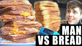 Man vs Bread & Fitness tracker science