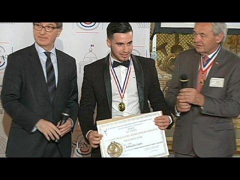 فرنسا: مهاجر غير شرعي يتحصل على جائزة أحسن متدرب مهني في فرنسا