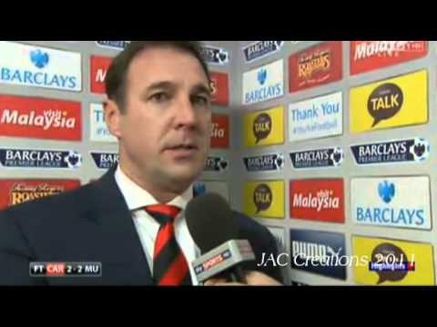 Malky Mackay Post Match Interview Cardiff 2-2 Manchester United 24/11/13