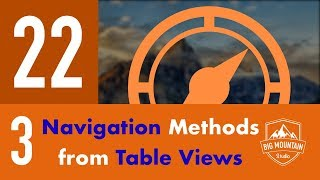 3 Ways to Navigate from a Table View Cell - Part 22 - Itinerary App (iOS, Xcode 10, Swift 4)