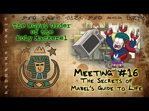 THE SECRETS OF MABEL'S GUIDE TO LIFE [GRAVITY FALLS]: The Royal Order of the Holy Mackerel