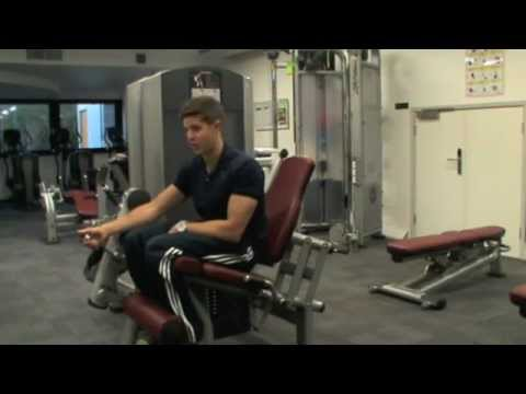 How To: Leg Extension (Life Fitness Machine) Image 1