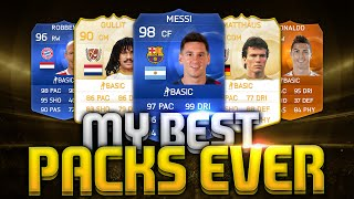 MY BEST PACKS EVER!!!! FIFA 15 ULTIMATE TEAM