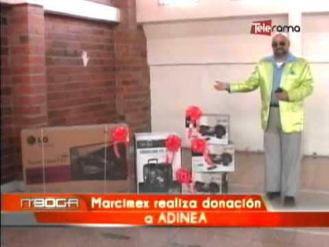 Marcimex realiza donación a ADINEA