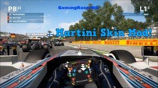 F1 2014 - [Williams] Martini Skin Mod! (1080p HD)