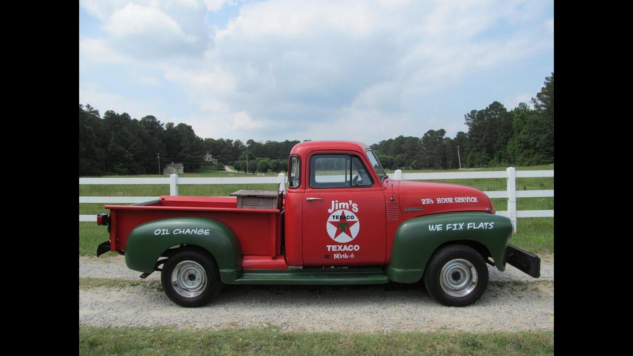 1953 Chevrolet 3100 Pickup Truck Youtube