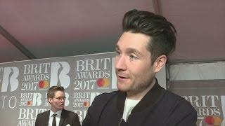 Brit Awards 2017: Bastille's Dan Smith makes 'awkward' joke to Katy Perry