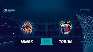 LIVE 🔴 - Tsmoki Minsk v Polski Cukier Torun - Qualif. Rd. 1 - Basketball Champions League 2018-19