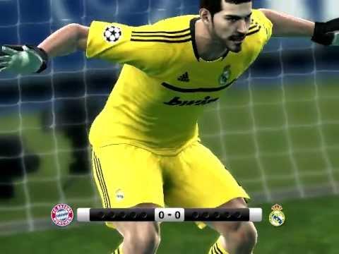 Real Madrid vs Bayer Munich Penaltis Pes 2012 thumbnail