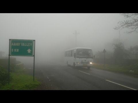travel india @ aamby valley scenic road/zigzag drive in the misty mountains(part 1) lonavala india