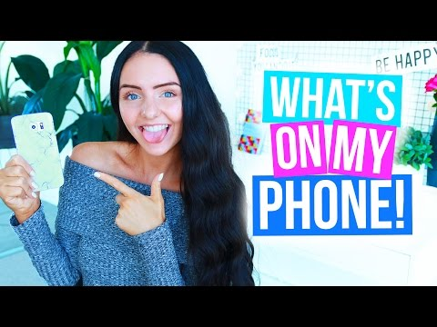 WHAT'S ON MY PHONE? 2016 (Android) Samsung Galaxy S6 Edge!