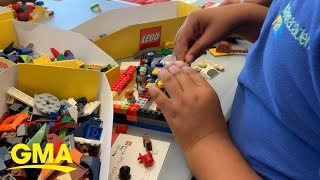 5th graders create a community by playing with Lego | GMA