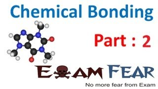 Chemistry Chemical Bonding part 2 (Theory on formation of molecule) CBSE class 11 XI