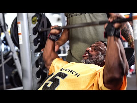 BACK ON THE ROAD TO OLYMPIA 2019 Killing Chest with Mike Rashid at Golds Gym