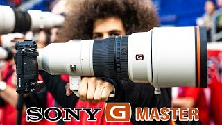 Sony's $12,000 400mm F2.8 G Master OSS Hands On Mini Review
